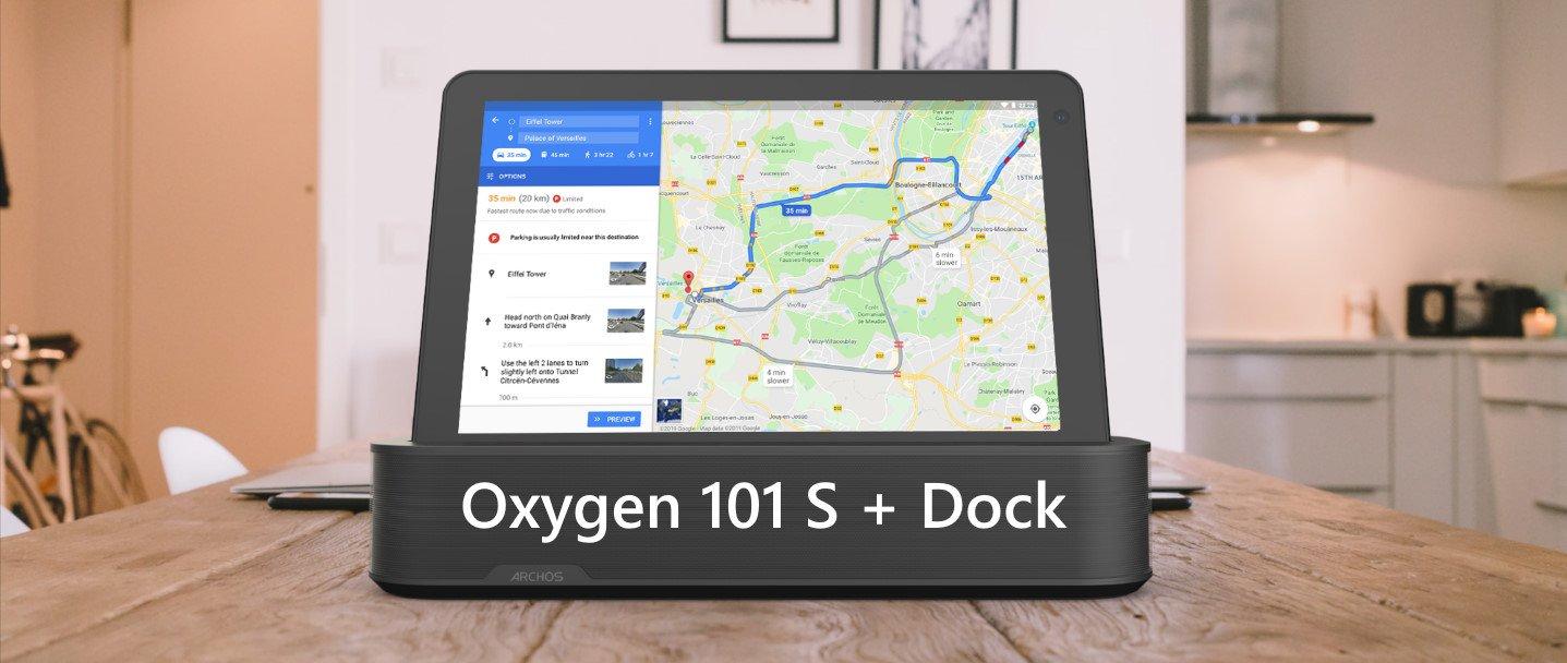 ARCHOS Oxygen 101 S avec Dock